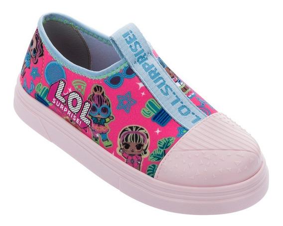 Tênis Feminino Lol Mania 22223 Rosa/azul - Grendene Kids
