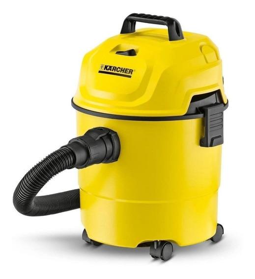 Aspiradora Kärcher WD 1 15L amarilla y negra 220V