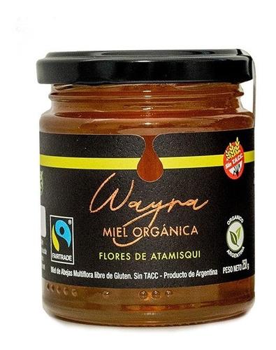 Imagen 1 de 10 de Miel Orgánica Flores De Atamisqui 250 Grs. Certificada