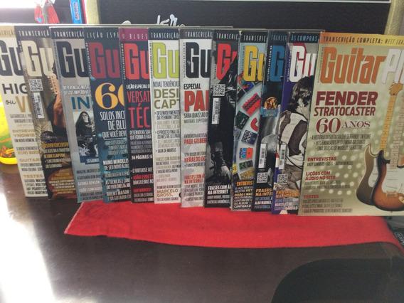Coleção De Revistas Guitar Player 2015 Com 11 Unidades