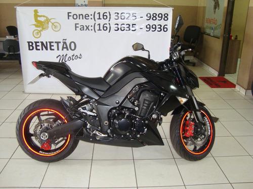 Kawasaki Z 1000 Preto 2013