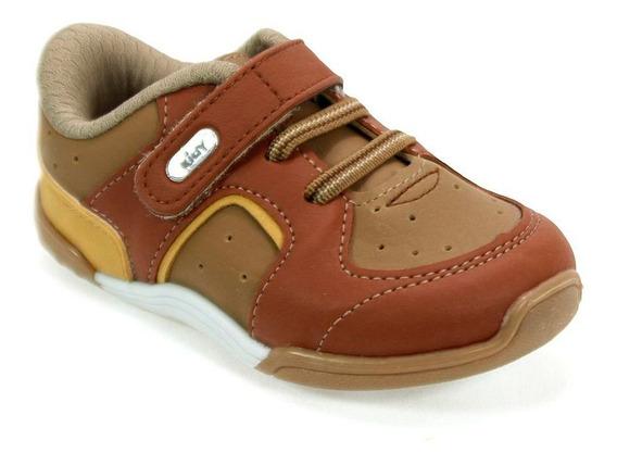 Tênis Menino Colors Caramelo/marrom Kidy 008-0411-4775