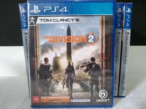 Tom Clancy's The Division 2 Ps4 Novo Mídia Física Lacrado Pronta Entrega