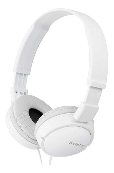 Fone de ouvido Sony MDR-ZX110 branco