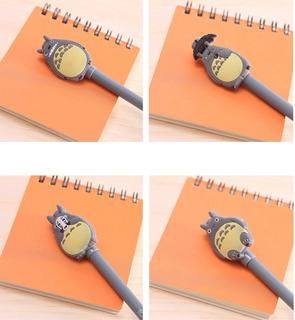 Lapiceros De Totoro Tinta Negra X Unidad