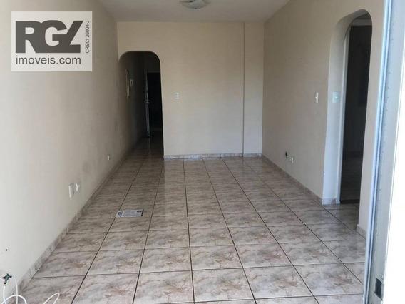 Apartamento Com 2 Dormitórios Para Alugar, 110 M² Por R$ 2.400,00/mês - Ponta Da Praia - Santos/sp - Ap0429