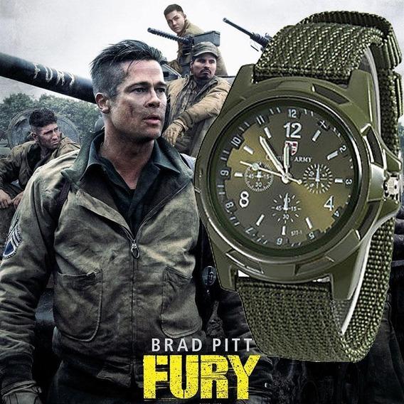 Relógio Masculino, Gemius Army. Brad Pitt Fury