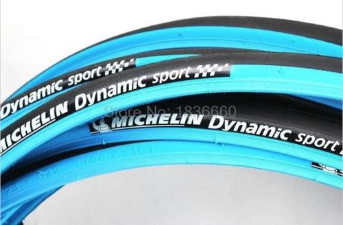 Cubierta Clincher 700x23 Ruta Fixie - Michelin Dynamic Sport