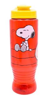 Termo De Agua Snoopy Charlie Brown Botella Cilindro 750ml