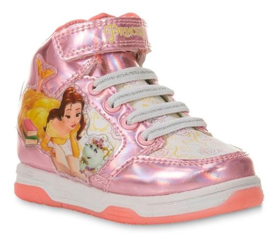 Zapatos O Botas De Niñas Princesa Bella Disney Talla 27