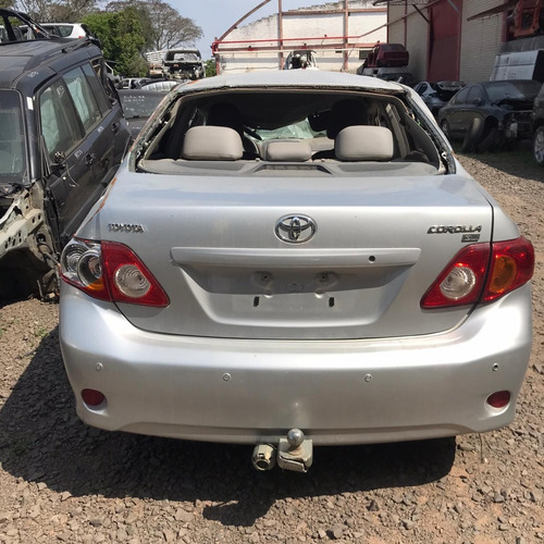 Sucata Toyota Corolla Gli 136cvs Flex Prata