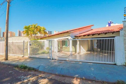 Casa Com 3 Dormitórios, 230 M² - Venda Por R$ 695.000,00 Ou Aluguel Por R$ 2.900,00/mês - Nova Londres - Londrina/pr - Ca0124