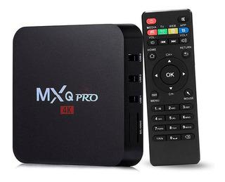 Convertidor Smart Tv Android Control Remoto Wifi Netflix