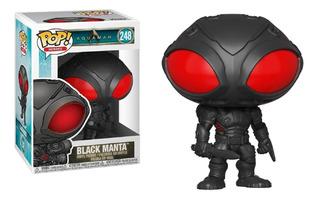 Funko Pop #248 Black Manta - Aquaman Dc Movie 1018 Original