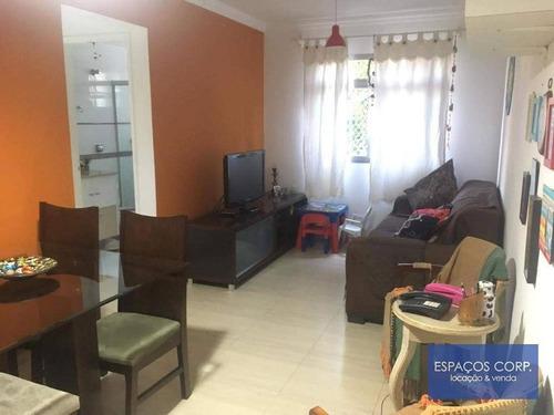 Apartamento À Venda, 65 M² Por R$ 360.000,00 - Jardim Marajoara - São Paulo/sp - Ap0218