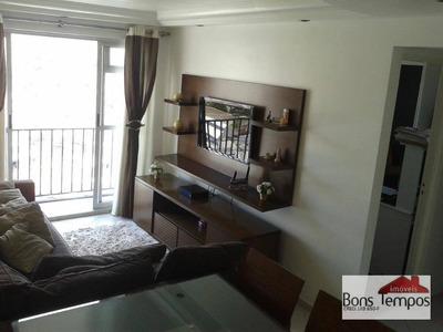Apartamento Com 2 Dormitórios À Venda, 58 M² Por R$ 360.000 - Chácara Califórnia - São Paulo/sp - Ap4094