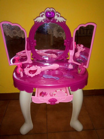 Peinadora Juguete Princesas Para Niñas Mp3 Sonidos Y Luces