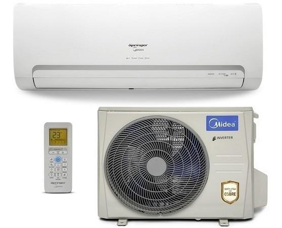 Ar Condicionado Split Springer Midea Inverter Wi-fi 18000btu