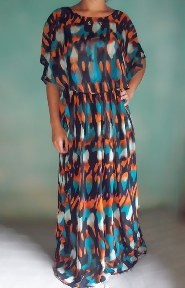 Vestido Longo Moderno