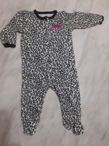 Monito Enterizo Pijama Bebé Niña Talla 6meses