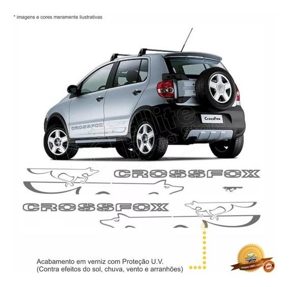 Kit Faixas/adesivos Crossfox 2008 2009 - Modelo Original