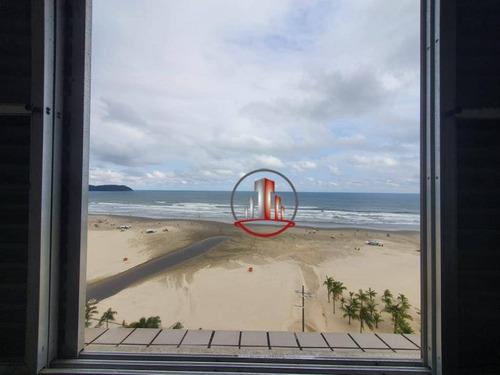 Apartamento Com 1 Dormitório À Venda, 40 M² Por R$ 170.000,00 - Vila Guilhermina - Praia Grande/sp - Ap2374