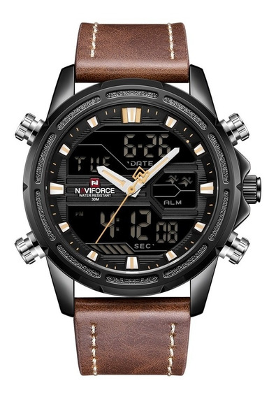 Relógio Naviforce Masculino Analógico E Digital Nf9138