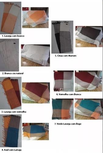 Imagem 1 de 4 de Super Manta Decorativa Lençol Para Sofa E Cama 2,40m X 1,60m