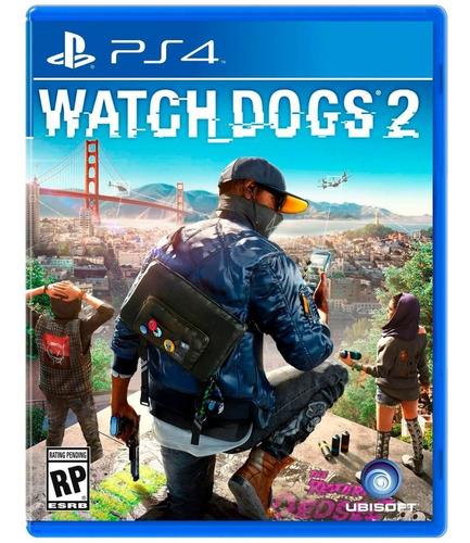 Ps4 Watch Dogs 2 ¡totalmente Nuevo Y Sellado¡