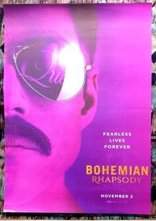 Poster Pelicula Queen Bohemian Rhapsody Freddie Mercury