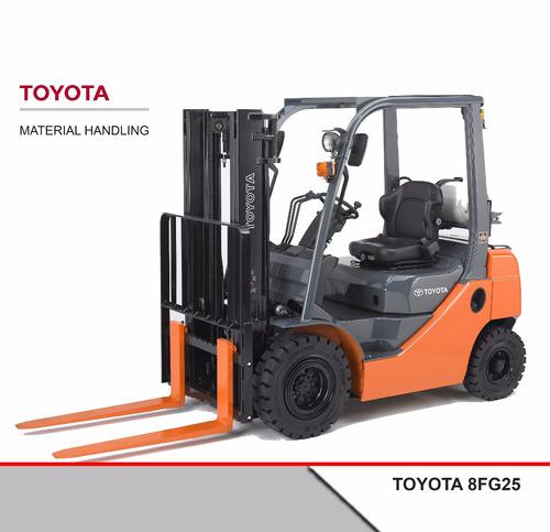 Autoelevador Toyota Nafta/gas 8fg25 2,5 Tn 0 Hs