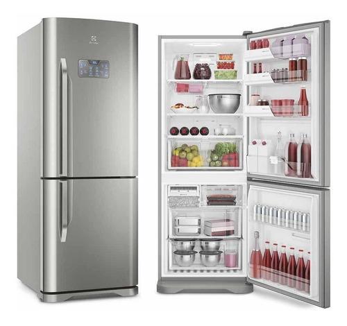 Geladeira/refrigerador 454 Litros 2 Portas Inox - Electrolux - 220v - Db53x