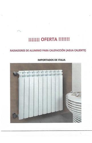 Imagen 1 de 5 de Radiadores De Aluminio Para Calefacción (agua Caliente)