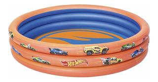 Bestway Bw93403hot Wheels Infantil 3-ring Piscina