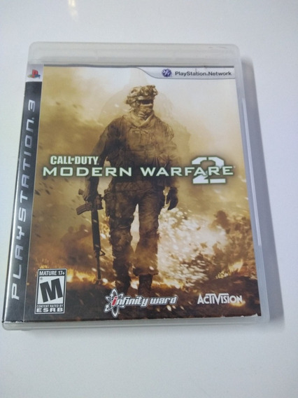 Jogo Call Of Duty Moderno Warfare 2 Ps3 Mídia Física