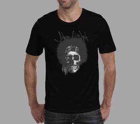 Camiseta Jimi Hendrix - Preta