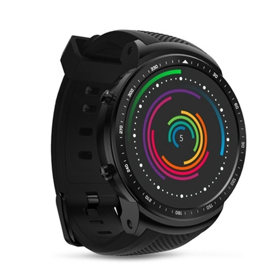 Zeblaze Thor Pro 3g Gps Smartwatch Teléfono Negro