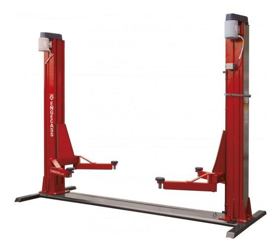 Elevador Automotivo Trifásico 4100kg Com Lubrificação A Óleo