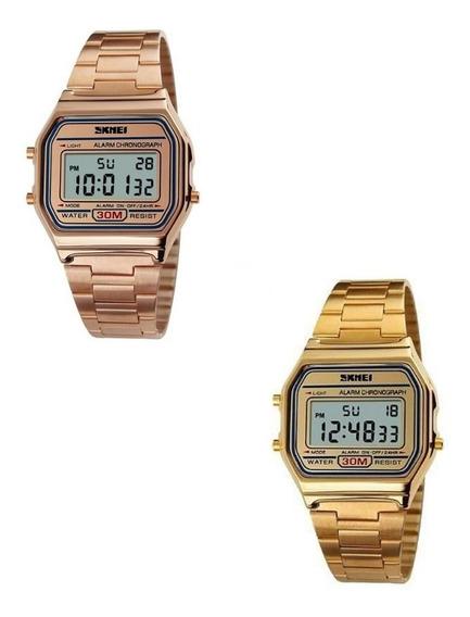Relógio Skmei 1123 Digital Unisex Retro Pronta Entrega