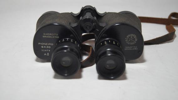 Binóculo Antigo Pioneiro A8 Da Segunda Guerra Brasileiro