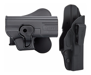 Kit Coldre Externo Glock + Coldre Interno G25 G19 G23