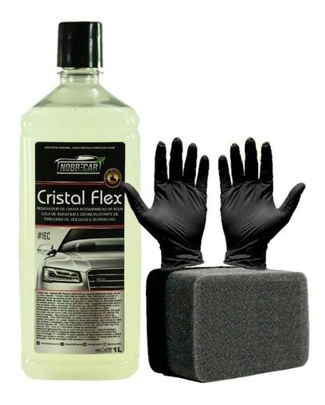 Cristal Flex Removedor De Chuva Ácida P/ Vidros Nobre Car
