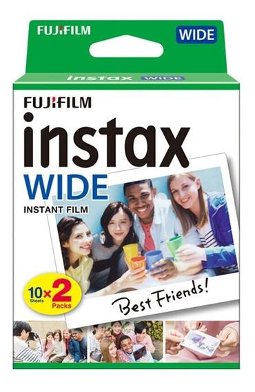 Fujifilm Instax Wide Camera Foto Instantanea De Papel Para