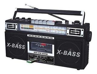 Qfx J22ubk Rerun X Radio Y Cassette To Mp3 Converter Black
