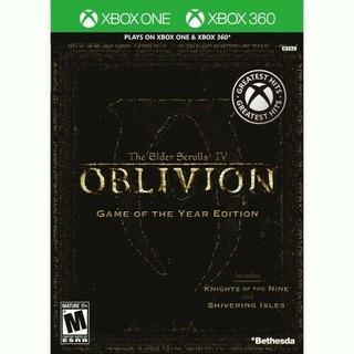 The Elder Scroll 4 Oblivion Goty Fisico Nuevo Xbox One Y 360