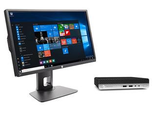 Pc Hp Prodesk 400 G3 Mini, Intel® Core I5 + Monitor Hp 22