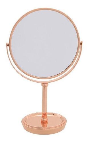 Espelho Aumento Dupla Face  1x/3x Glossy Rg Com