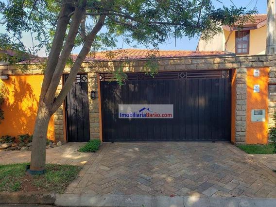Casa Com 3 Dormitórios À Venda, 166 M² - Cidade Universitária - Campinas/sp - Ca1563