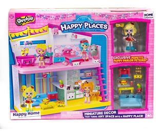 Shopkins Happy Places Casa Completa