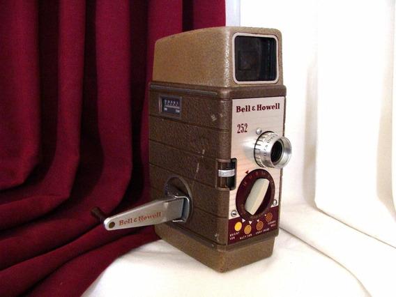 Camara Filmadora Vintage / Retro Bell & Howell 252 8mm